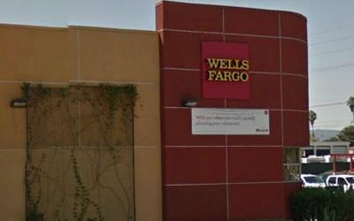 Wells Fargo Exterior Signage