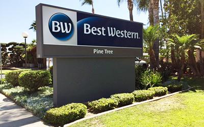 Best Western Signage